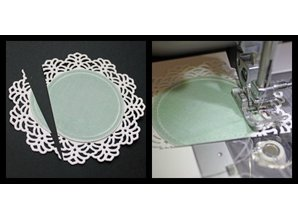 Spellbinders und Rayher Metal template Shapeabilities, Vintage Lace Motifs, 2.5 x 2.4 to 9 cm, A Set of 5 templates!