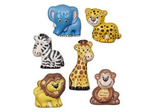 GIESSFORM / MOLDS ACCESOIRES Craft Kit: 6 forme Safari, 7-8 cm