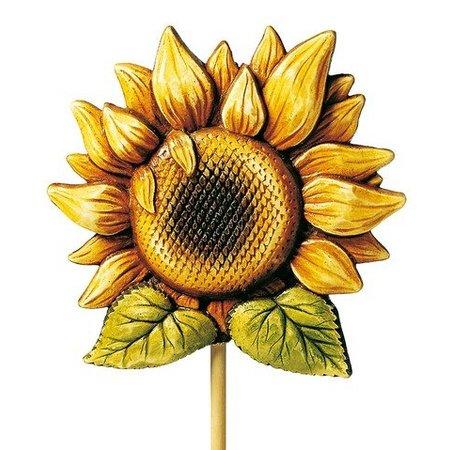 GIESSFORM / MOLDS ACCESOIRES Gießform, Dekostecker Sonnenblume, 18cm