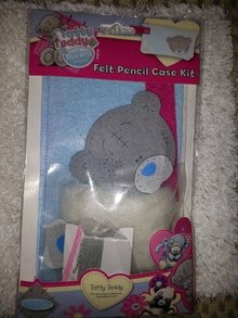 Kinder Bastelsets / Kids Craft Kits Tatty Teddy, Bastelset aus Filtz
