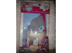 Kinder Bastelsets / Kids Craft Kits Tatty Teddy, håndværk kit til en Filtz penalhus.