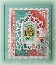Spellbinders und Rayher Punch - and embossing stencil SET