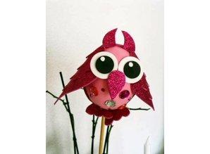 FOFUCHA Fofucha owl craft set, 9 - piece