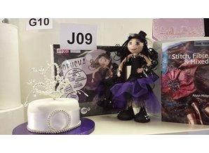 FOFUCHA Fofucha Gothic Girl Craft Kit, 30 cm, 49 dele