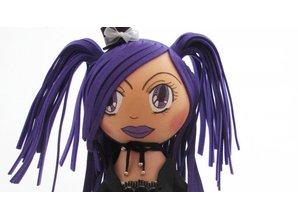 FOFUCHA Fofucha Gothic Girl Craft Kit, 30 cm, 49 parts
