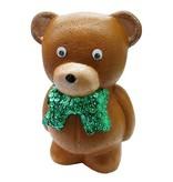 Objekten zum Dekorieren / objects for decorating 1 styrofoam form bjørn med bånd, 20 cm