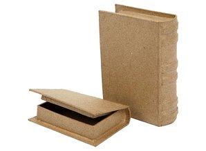 Objekten zum Dekorieren / objects for decorating Box in book form in 2 sizes!