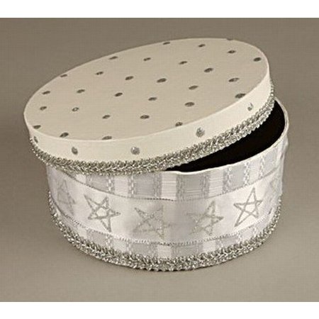Objekten zum Dekorieren / objects for decorating Caja de cartón conjunto, ronda