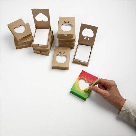 Objekten zum Dekorieren / objects for decorating Titular de la libreta, tamaño 10x7x2, 5 cm