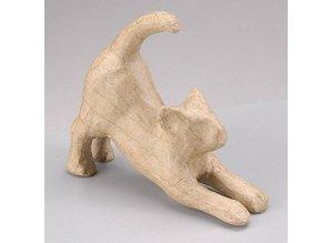 Objekten zum Dekorieren / objects for decorating 1PappArt figur, kat strækker