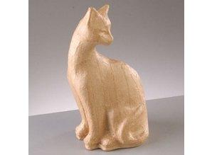 Objekten zum Dekorieren / objects for decorating Figura PappArt, cat