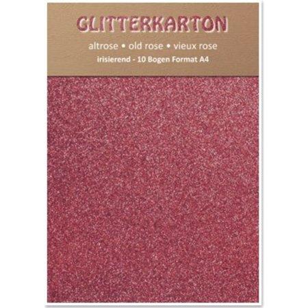 DESIGNER BLÖCKE  / DESIGNER PAPER cartón brillo, 10 hojas de 280g / m², A4, altrosa