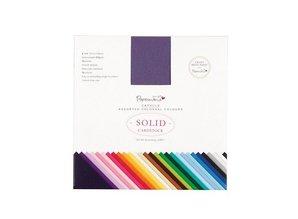 DESIGNER BLÖCKE  / DESIGNER PAPER Almohadilla de papel, 15 x 15cm, 216gsm papel de tarjetas de alta calidad, 75 hojas, 75 colores!