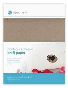 Silhouette NEU hier im SHOP: Bedruckbares Kraft Papier für Silhouette Cameo