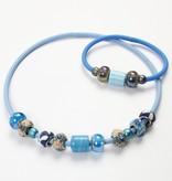 Schmuck Gestalten / Jewellery art Silicon armbånd med lukning og stop-ringe