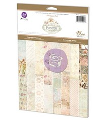 Prima Marketing und Petaloo A4 pad of paper, Paper Pad Princess, 16x3 sheet