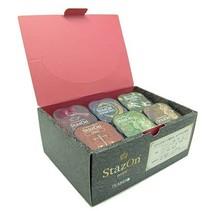 6 almohadillas de tinta StazOn en color colores profundos !!