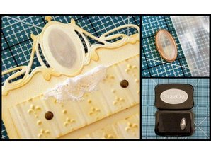 Spellbinders und Rayher Punch - and embossing stencil, metal stencil Mirror