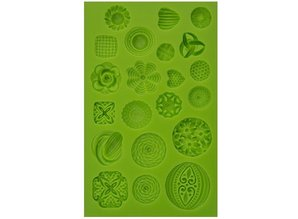 PATCHY Partly silicone mold - Decor Elements 21 Topics
