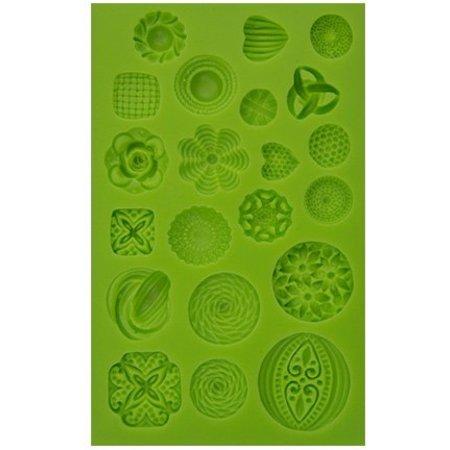 PATCHY Delvist silikone forme - Decor Elements 21 Emner