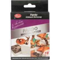 Cutting - Pardo motif-cutter, 18 motif