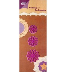 Joy!Crafts und JM Creation Punch - and embossing template