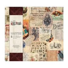 Scrapbooking ... Welcome to Madame Payrauds Emporium curiosities. A must have for any collector! Says fabulous 12 x 12 bound scrapbook album en are 10 pockets in perfect OM ever AT Keeping scrapbook pages to each other. It fits perfectly with the rest v