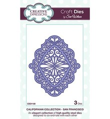 Creative Expressions NEW punch - and embossing template