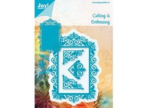 Joy!Crafts und JM Creation Bastel TIP: stansning - og prægning stencil, topramme og 3 hjørner