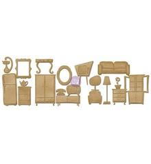 Embellishments / Verzierungen Truciolare Furniture