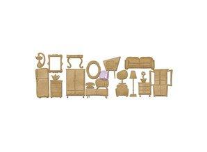 Embellishments / Verzierungen Spånplade Furniture