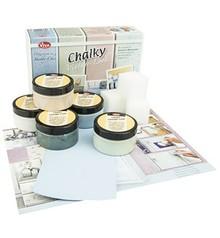 FARBE / INK / CHALKS ... Kalkholdig Starter Set, Shabby Chic