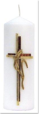 Exlusiv Bastelset: candela, croce con orecchio