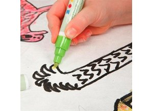 BASTELZUBEHÖR / CRAFT ACCESSORIES 2 sun visor for the car - easy to paint with Stoffmalstift to decorate, - Copy