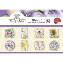 """Crafting bog til kort """"Forår og blomster"""""""