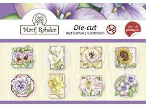 """BILDER / PICTURES: Studio Light, Staf Wesenbeek, Willem Haenraets Crafting book for card making """"Spring and Flowers"""""""