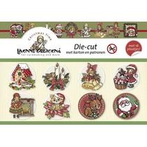 """Bastelbuch para el diseño de la tarjeta de """"foto de la Navidad"""""""