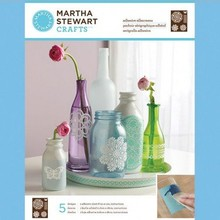 EK Succes, Martha Stewart Martha Stewart Adhesivo serigrafías, tapete de encaje, 22 x 28 cm, 1 pc