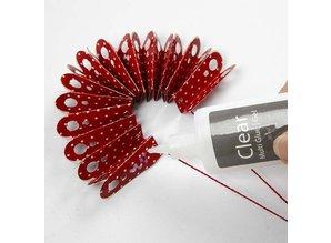 Komplett Sets / Kits Craft Kit: material set for 6 pcs rosettes
