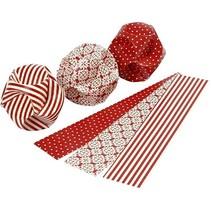 Craft Kit: set van materialen voor 9 stuks papier ballen.
