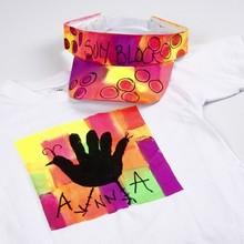 Objekten zum Dekorieren / objects for decorating Un abito estivo per pittura e decorazione!