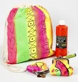 BASTELZUBEHÖR / CRAFT ACCESSORIES En neon-farvet sommer tøj: høj kvalitet stof maling, vandbaseret, produktiv