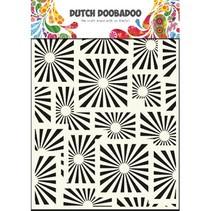 Pronty Dutch Mask type, A5, quadrilaterals