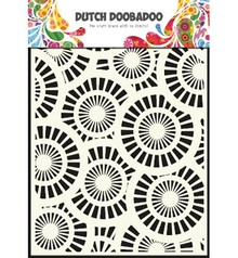 Dutch DooBaDoo Pronty Dutch Mask Art,A5, Circles