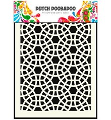 Schablonen, für verschiedene Techniken / Templates Pronty, hollandsk Masketype, A5, Mosaic