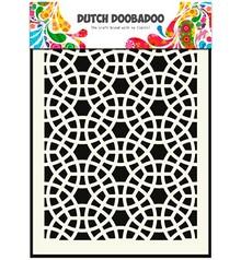Schablonen und Zubehör für verschiedene Techniken / Templates Pronty, hollandsk Masketype, A5, Mosaic