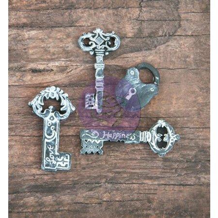 Prima Marketing und Petaloo 3 Hars sleutel en een slot