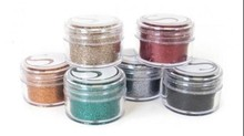 BASTELZUBEHÖR / CRAFT ACCESSORIES Glitter Powder Mørke farver