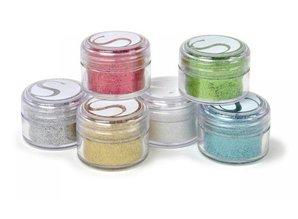 BASTELZUBEHÖR / CRAFT ACCESSORIES Colores en polvo Glitter