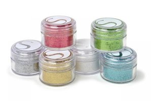 BASTELZUBEHÖR / CRAFT ACCESSORIES Glitter powder colors